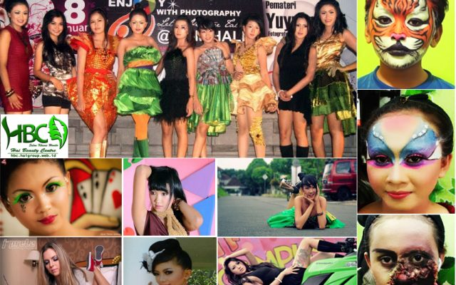 "MUA ""Make Up Artis"" –>MakeUp Caracter, MakeUp Fantasy, MakeUp Sikatri ( MakeUp Kulit Bernoda), MakeUp Geriatri ( MakeUp Kulit Berkeriput), MakeUp TV, MakeUp Film, Mak Up Foto HBC ""Hai Beauty Centre"" Salon […]"